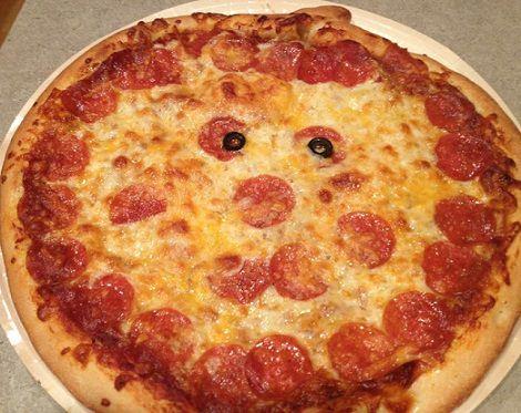 pizza calabaza recetas halloween 2013
