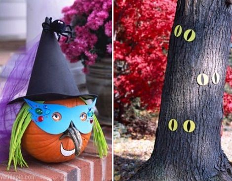 manualidades de halloween jardín 2013