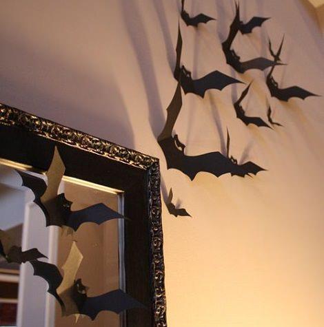 ideas originales halloween murciélagos