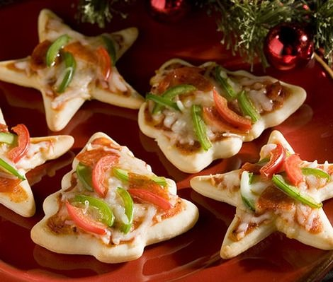 aperitivos navidad fáciles pizza