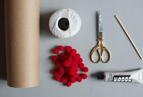 materiales envolver regalos